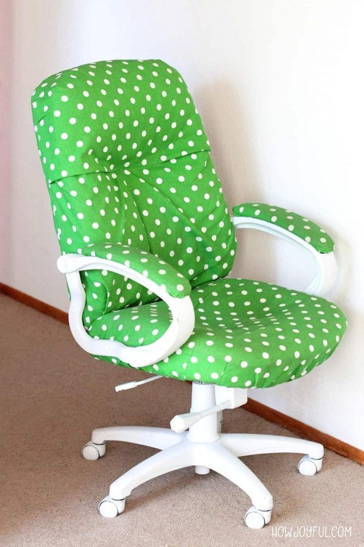 How To Transform A Boring Chair With Fabric And Spray Paint With