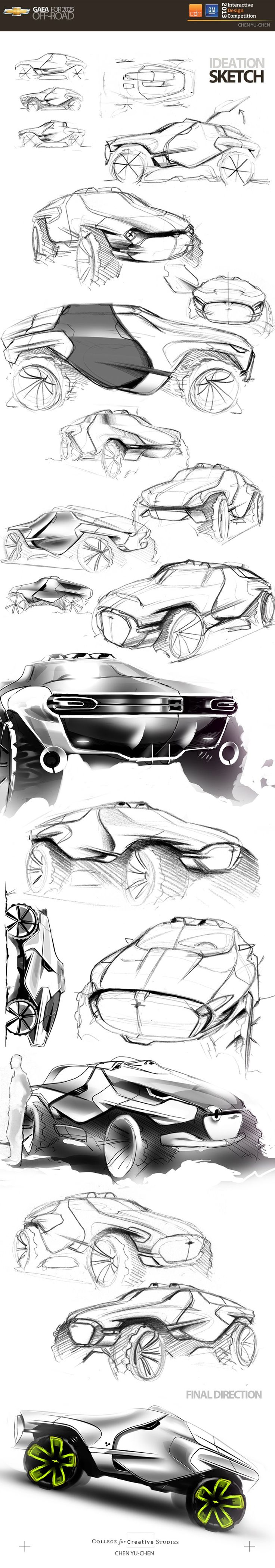 GAEA OFF-ROAD CONCEPT in Winners announced: CDN - GM Interactive Design Competition 2013-2014 - Phase II