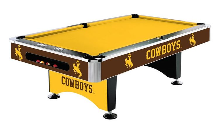 University of Wyoming 8' Pool Table