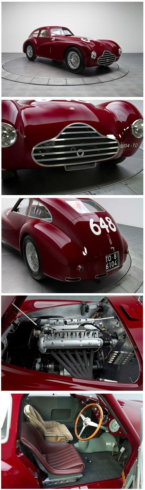 1950 .. Mille Miglia , an Alfa Romeo 6C 2500 Competizione driven by Fangio and Zanardi finished 3rd o/a.