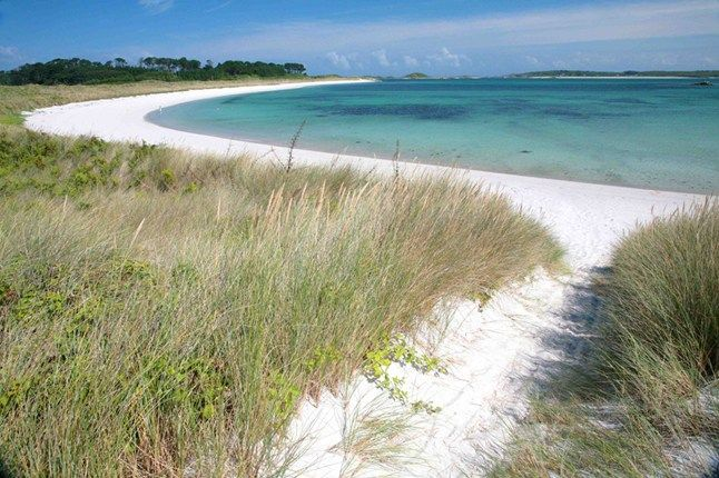 Pentle Bay, Tresco, Scilly Isles, Cornwall