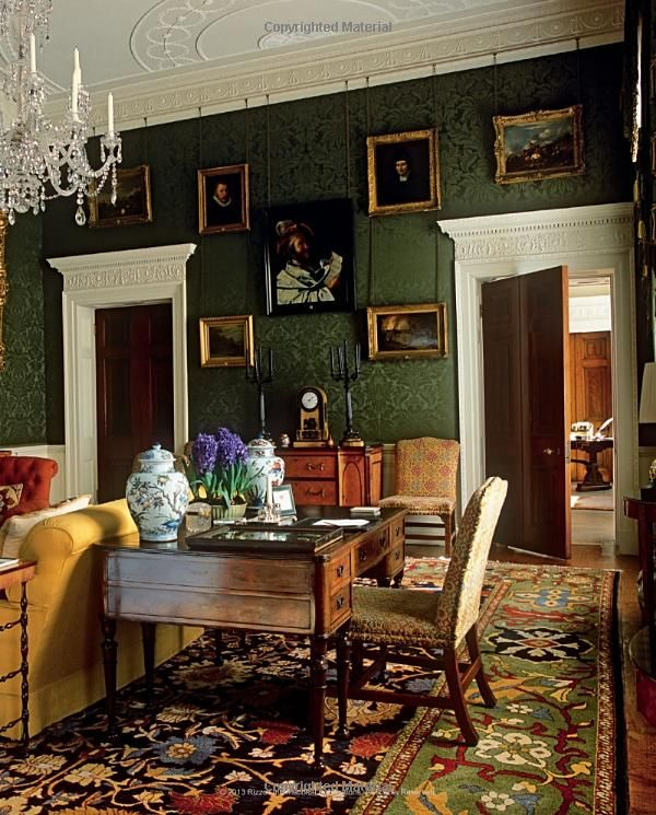 17 best ideas about dark green walls on pinterest green for Green living homes