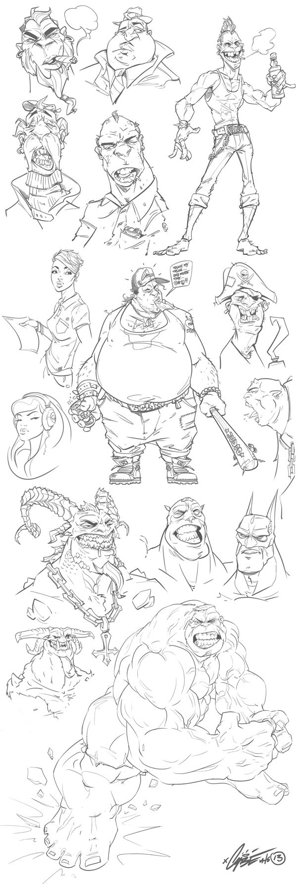 ✤ || CHARACTER DESIGN REFERENCES | キャラクターデザイン • Find more at https://www.facebook.com/CharacterDesignReferences if you're looking for: #lineart #art #character #design #illustration #expressions #best #animation #drawing #archive #library #reference #anatomy #traditional #sketch #development #artist #pose #settei #gestures #how #to #tutorial #comics #conceptart #modelsheet #cartoon || ✤