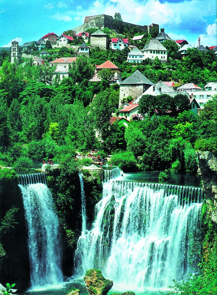 Jajce, Bosnia (by Exodus Travels)