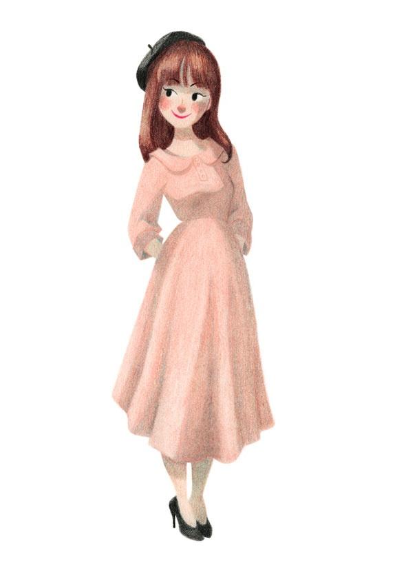 genevieve godbout.  more of quercus dress of licia florio fw 12.