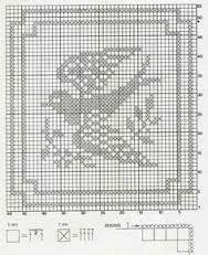 Resultado de imagen para cortinas a crochet con golondrinas