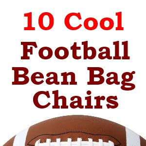 Some of the best football bean bag chairs.