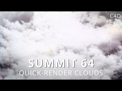 Easily Create Fast Rendering Cloudscape in C4D - Lesterbanks | C4d