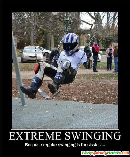 extremely funny pictures | funny sports pictures - extreme swinging