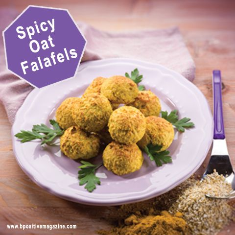 Spicy Oat Falafels #Recipe For You!!