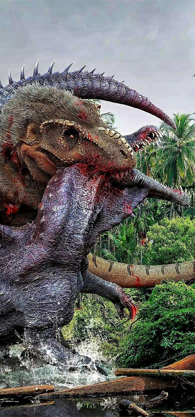 Spinosaurus vs Giganotosaurus Carolinii