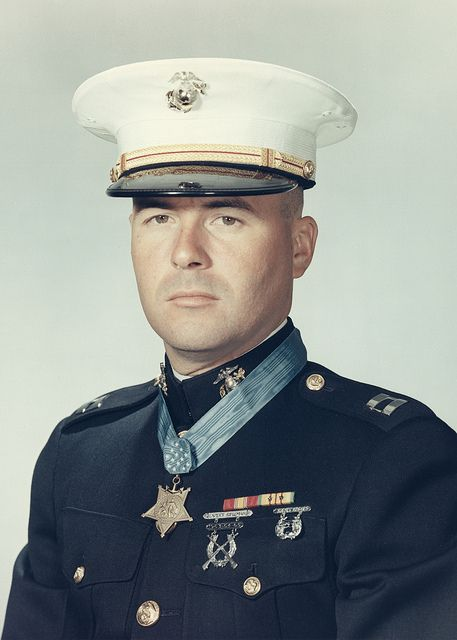 First Lieutenant Harvey C. Barnum, Jr. US Marine Corps Medal of Honor recipient Operation Harvest Moon at Ky Phu, Quang Tin Province, Vietnam December 18, 1965.
