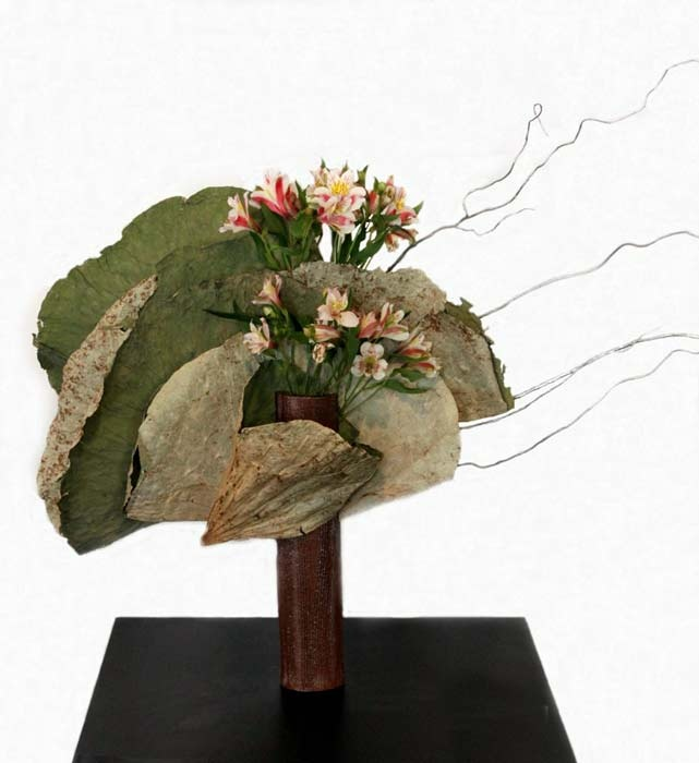 Ikebana - rugged - alstromerias never looked so good