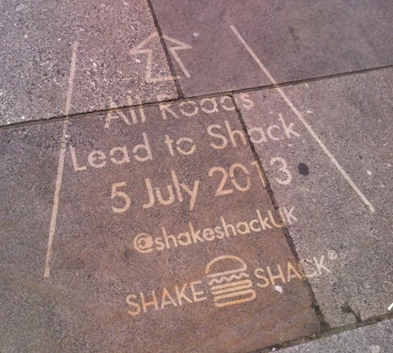 London photo of the day: Shake Shack is here!