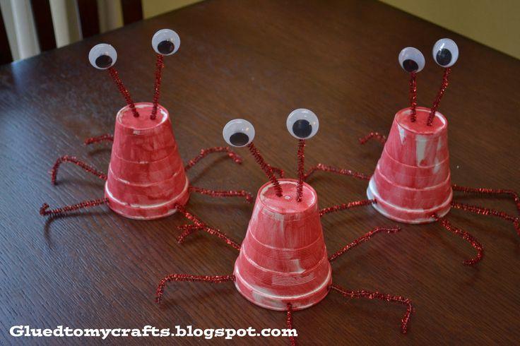 Styrofoam Cup Lobster {Craft}