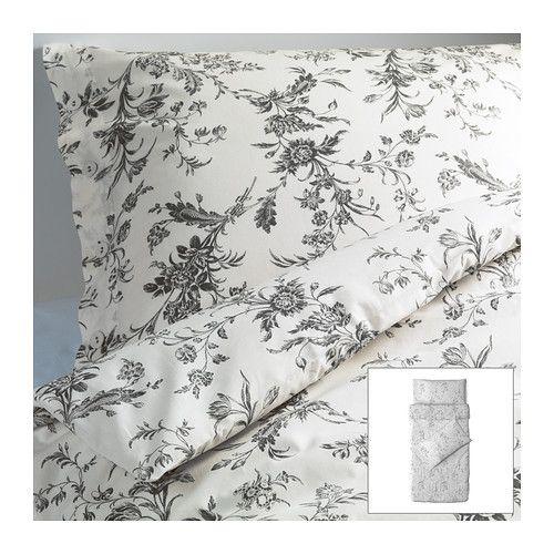 ALVINE KVIST Quilt cover and 2 pillowcases - 150x200/50x80 cm  - IKEA