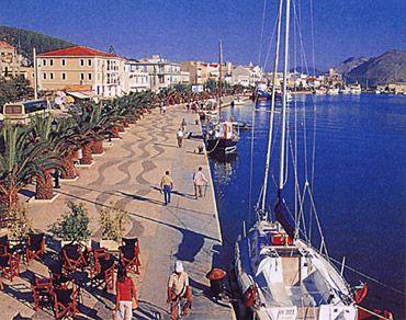 Argostoli Harbour, Kefalonia, Greece