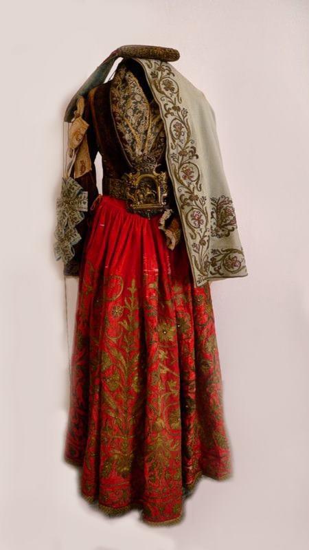 Costume Arbëresh (Probably Piana Degli Albanesi)