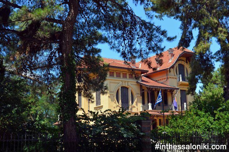 Thessaloniki - Villa Bianca Vasilissis Olgas Avenue  ---  Θεσσαλονίκη - Βίλα Μπιάνκα Ένα ακομη απο τα υπέροχα αρχοντικά της Βασιλίσσης όλγας που ακολουθεί τον Εκλεκτικιστικό Ρυθμό και έχει μοναδικές ιστορίες να διηγηθεί.  #thessaloniki #olgas #greece #architecture #eclecticism #travel