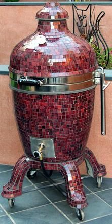 Kamado Grill - best grill I've EVER used!