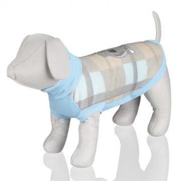 Trixie Kışlık Köpek Kazağı Small açık mavi/bej 36 cm