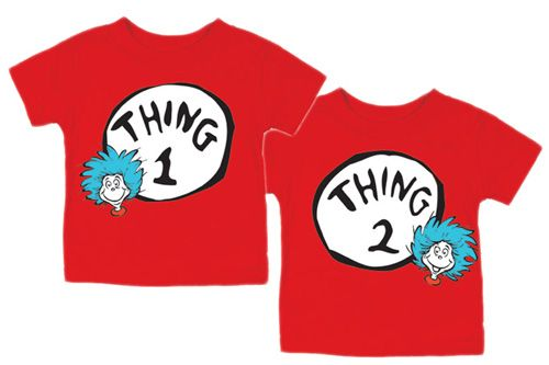 dr seuss | thing 1 and thing 2: Boys Birthday Parties, Birthday Shirts, My Boys, Bing Image, Parties Ideas, Boys Dr., Birthday Party Themes, Dr. Seuss, Boy Birthday Parties
