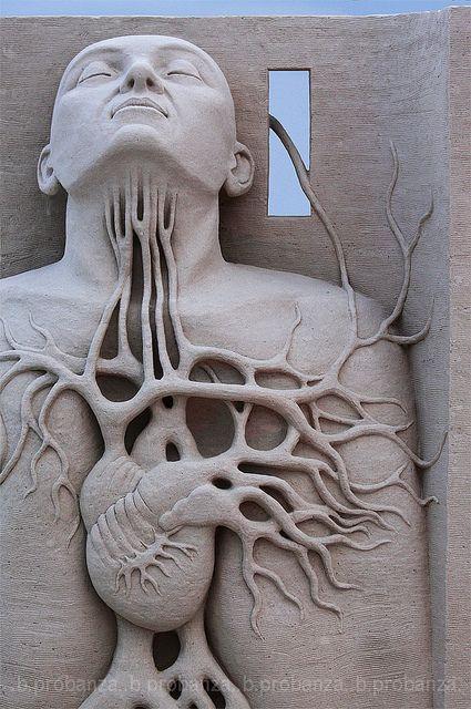 Sand Sculpture by Benjamin Probanza.