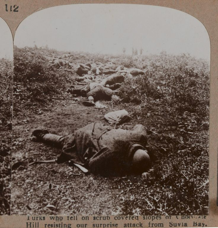 Fallen turkish troops in Suvla bay (Gallipolli) | History Wars