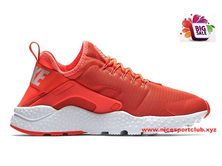 Nike Air Huarache Ultra Femme Pas Cher Rouge 819151_600
