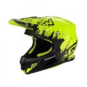 Scorpion Crosshelm VX-21 Air Mudirt Black/Neon Yellow
