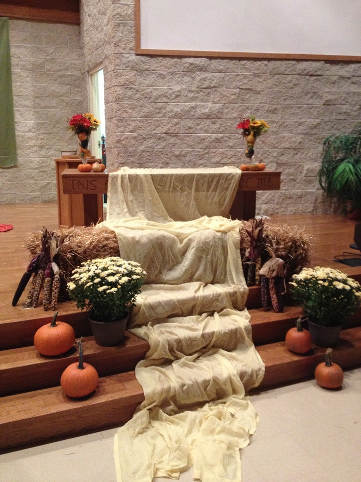 57 best ordinary time seasonal images on pinterest for Altar decoration ideas