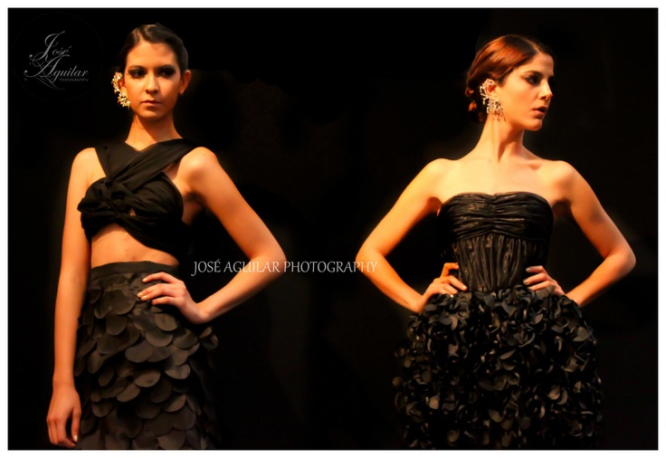 Foto cortesia Jose Aguilar con vestidos de noche
