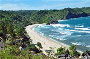 Srau Beach, Pacitan, East Java, Indonesia