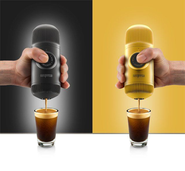The Nanopresso -  Stronger, lighter, smaller, better.    The newest handheld portable #espresso machine from Wacaco.  Coming soon!    Click the link to find out all about it!