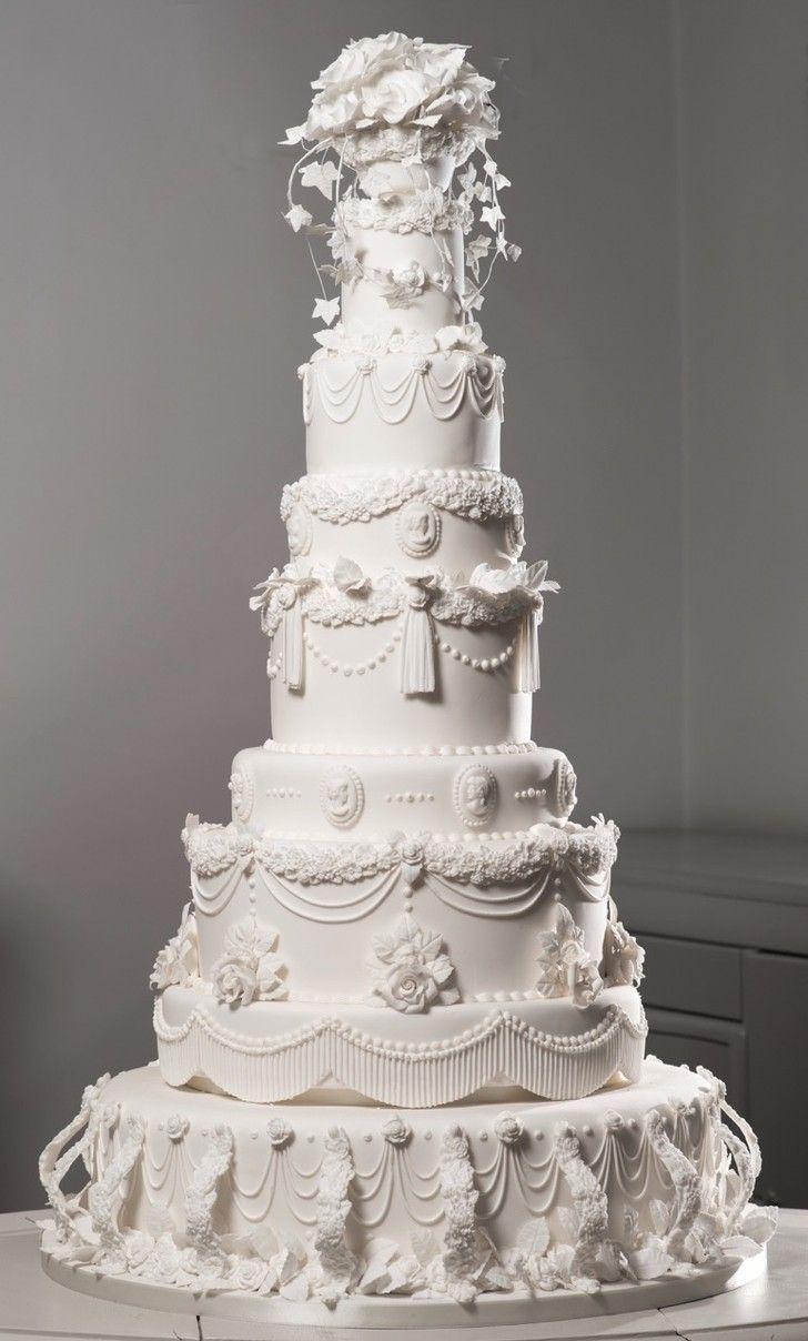 Miss Havishams Giant Victorian Wedding Cake Victorian Wedding Cakes Tiered Wedding Cake Beautiful Wedding Cakes