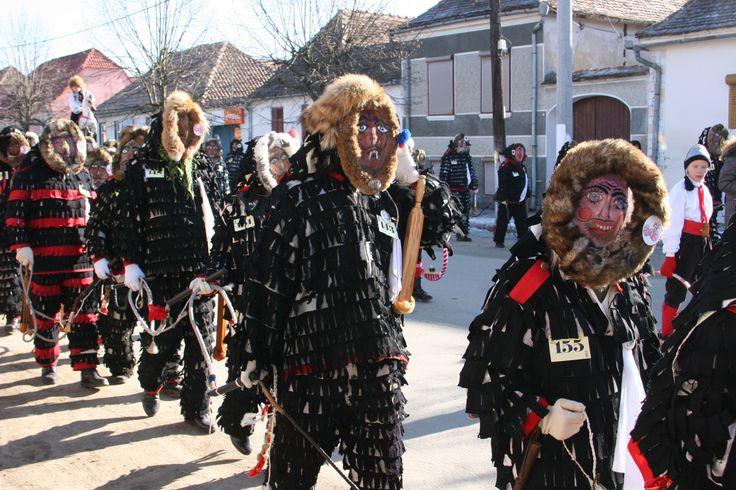 Grupa Lolele - karnawał w Agnita, #Rumunia. //Our #carnival fieldwork in Agnita, #Romania. 'Carnival King of Europe ' -project