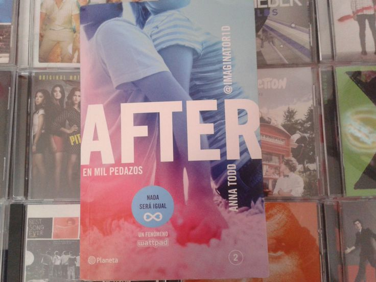 """After: En mil pedazos"" escrito por Anna Todd:"