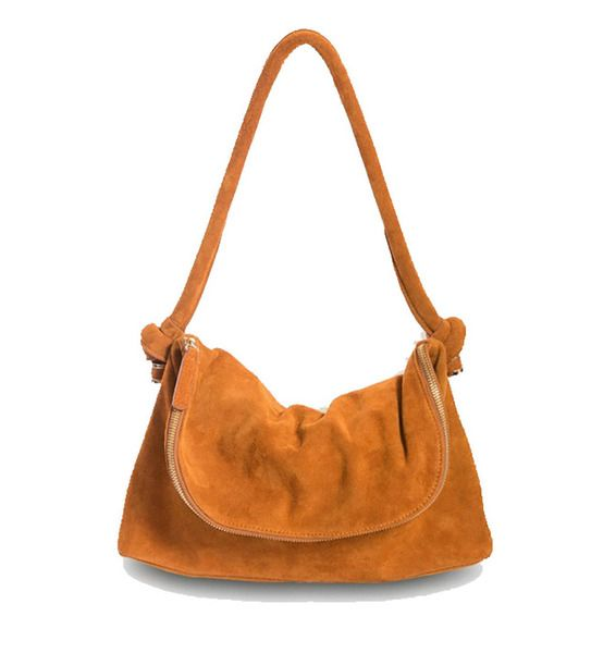 Tan Mini Slouch Bag | Krinkle Homewares & Gifts