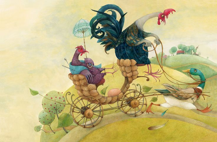 """Check out this @Behance project: """"Grimms' Fairy Tales"""" https://www.behance.net/gallery/59232229/Grimms-Fairy-Tales"""