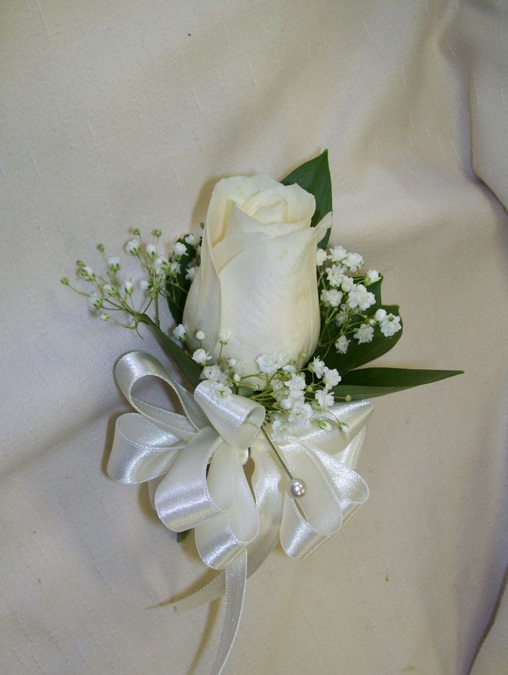wedding corsages for mothers | Ivory rose corsage for Mothers | Wedding 12.12.12