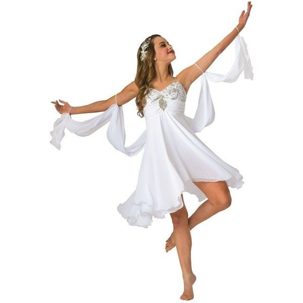 Costume Gallery ❤ liked on Polyvore featuring costumes, white halloween costumes, ballerina costume, white costumes, ballerina halloween costume and ballet costumes