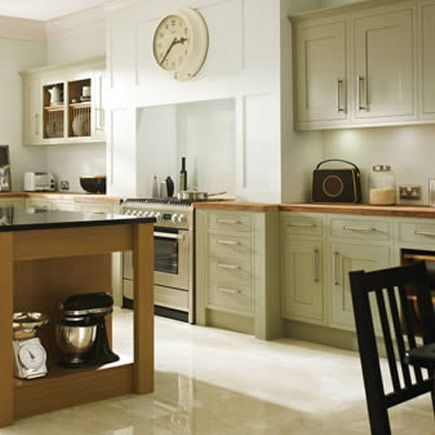 Kitchen compare retailers green painted for Wickes kitchen cupboards