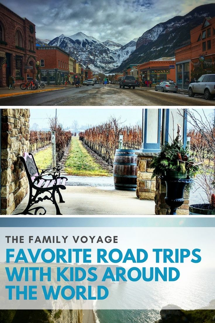 Looking for a quick weekend getaway for the family? Check out these great road trips with kids suggested by traveling families from around the world!