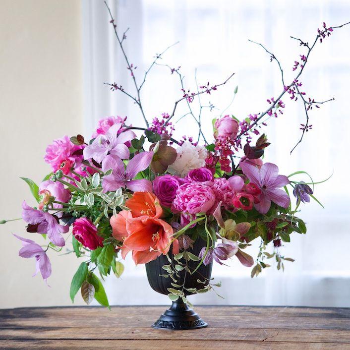 Floritismo. Tendencias: Copas, y sin espuma floral please...