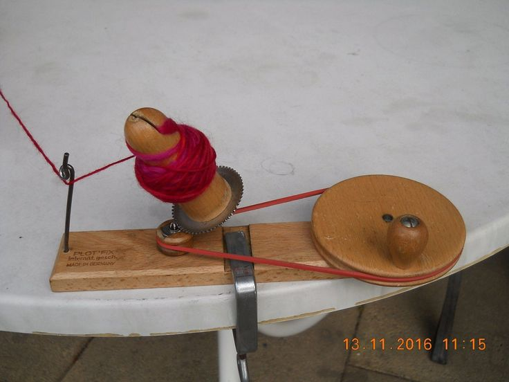 Spinn Fix mit Wollwickler PlotFix aus Holz kaum gebraucht /Sofortkauf kein Porto