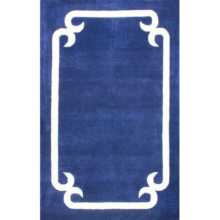 Elissa Rug In Blue Navy Area