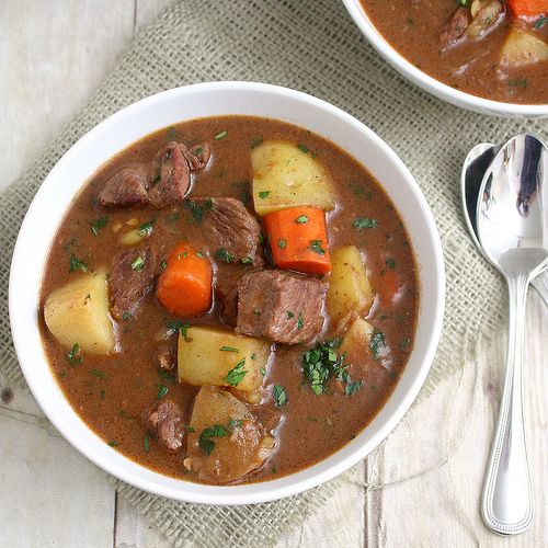 how to make beef stew gravy thick
