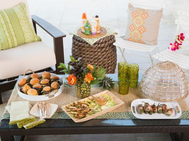 How to Host a Luau-Inspired Summer Pool Party: Food Network, Summer Pools Parties, Parties Idear, Foodnetwork Com, Luau Inspiration Summer, Summer Parties, Parties Ideas, Parties Fun, Parties Food