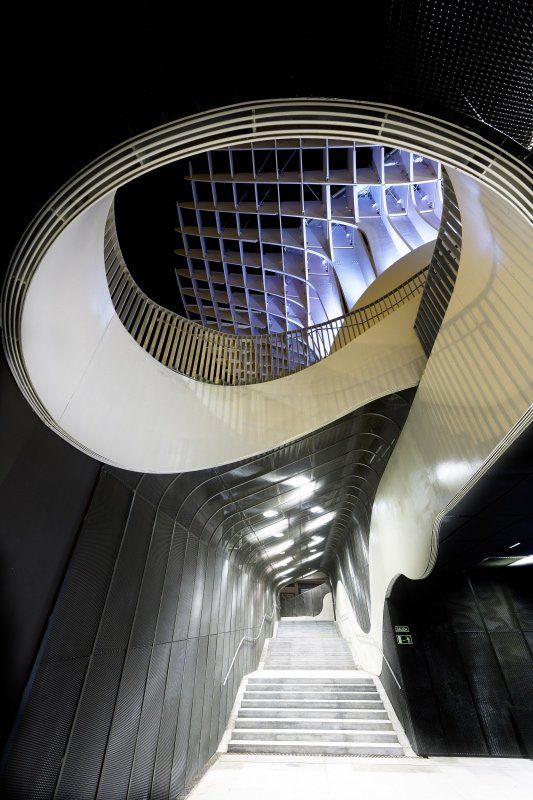 Metropol Parasol. J. MAYER H. Architects. Seville, Spain. Photo: David Franck