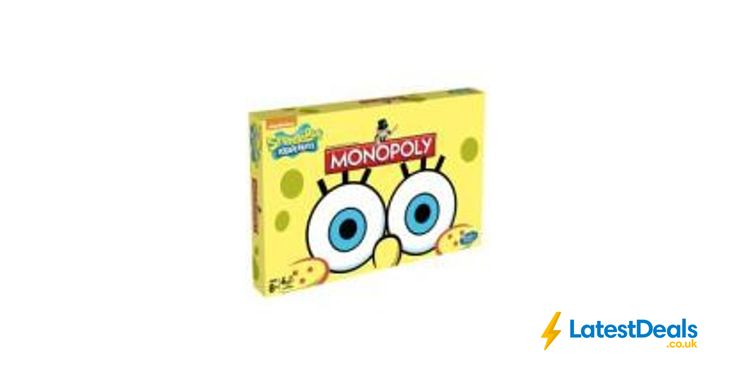 SpongeBob Monopoly Online Only, £9.99 at Toys R Us